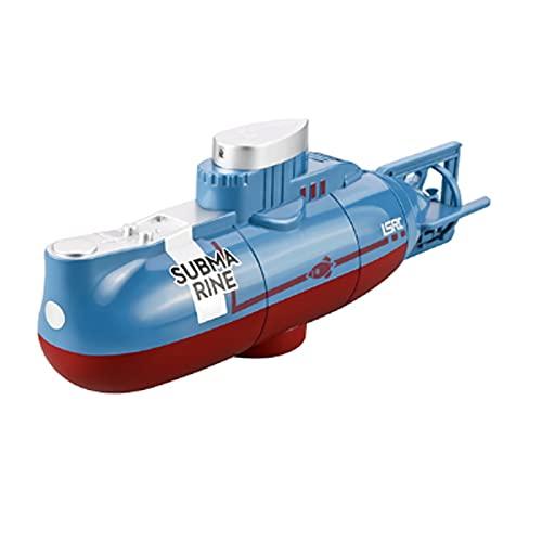 Tanktoyd 27MHZ Barco De Carreras Eléctrico Impermeable Inalámbrico RC Barco Carreras De Alta Velocidad Submarino Pesca Remos Bait Boats Juegos Educativos para Niños En Interiores Y Exteriores