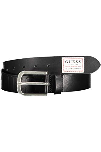 Guess Cinturón para hombre en cuero negro M0YZ52L0NW0-JBLK L