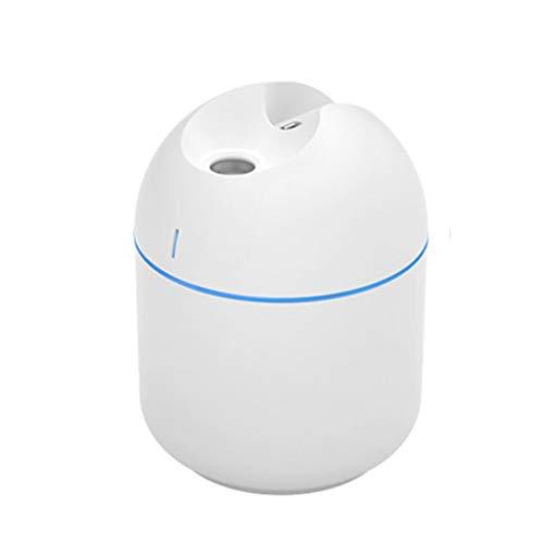 GYF Deumidificatore Bambini,Diffusore Ad Dell'aroma Ad Ultrasuoni 200ml, Mini Umidificatore per Termosifone Portatile, 2 modalità Spray, Eccellente Silenzioso (Color : White)