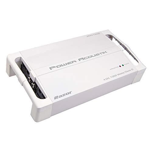 Power Acoustik MSA4-1300D Marine Grade 4-Channel Amplifier
