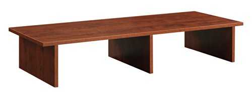 Designs2Go Large TV / Monitor Riser, Cherry