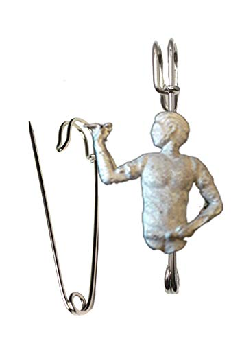 Darts Player 4x3.5cm ft94 Scarf , Brooch and Kilt Pin Pewter 3' 7.5 cm POSTED BY US GIFTS FOR ALL 2016 FROM DERBYSHIRE UK