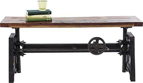 Kare Design - Table à Manger Ajustable 160 cm Bois et Acier Steamboat Econo