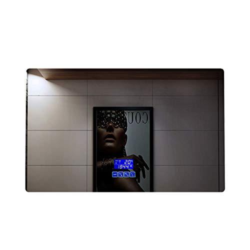 Smart LED-Badezimmerspiegel, rahmenlos, mit Lampe, Anti-Beschlag-Beschichtung, C, 75*120cm