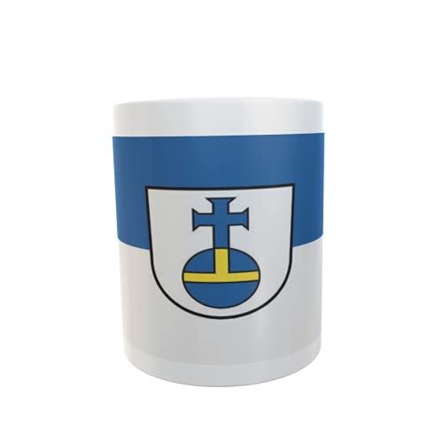 U24 Tasse Kaffeebecher Mug Cup Flagge Aidlingen