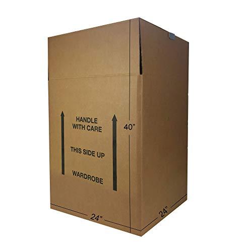 Shorty salvaspazio armadio scatole in (confezione da 6) 50,8x 50,8x 86,4cm scatole in