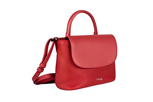 Lipault Paris - Mini bolso de mano de piel para mujer -  Rojo -  Mini