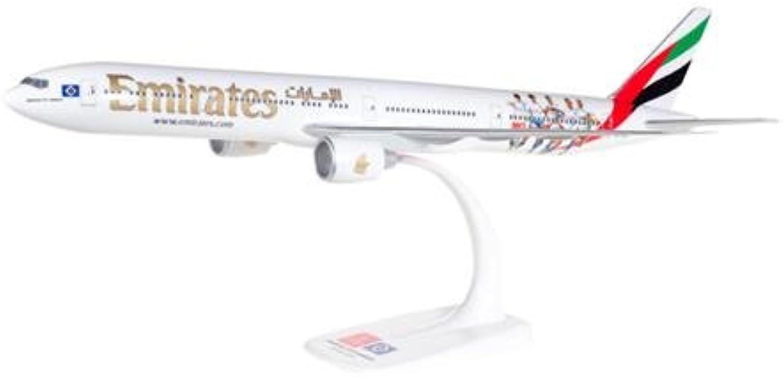 Herpa 611756 Fahrzeug Emirates Boeing 777-300ER Hamburger SV-A6-EPS B075SCK4X4 Sehr gute Qualität  | Erschwinglich