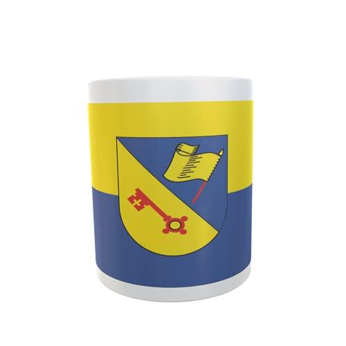 U24 Tasse Kaffeebecher Mug Cup Flagge Illingen (WB)