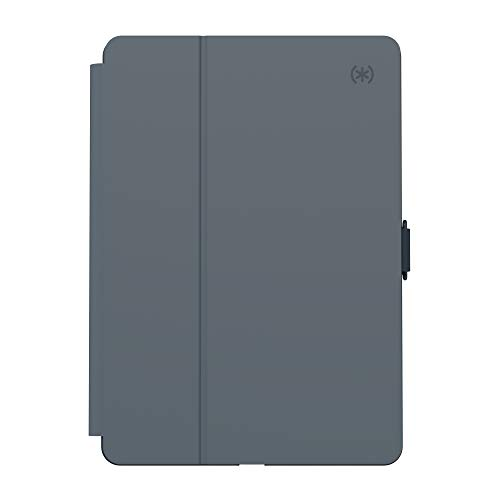Speck Products Balance Folio Case and Stand, Compatible with iPad 10.2-Inch (2019), Stormy Grey/Charcoal Grey