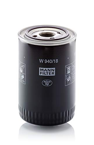 Original MANN-FILTER Ölfilter W 940/18 – Hydraulikfilter – Für PKW und Nutzfahrzeuge