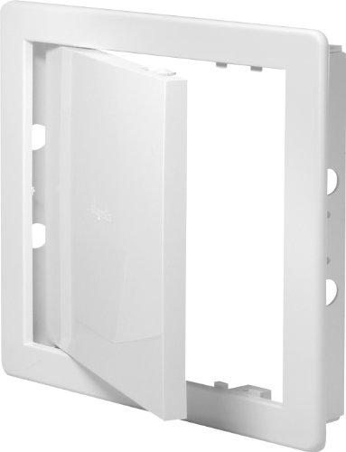 Revisionsklappe weiß 45 x 45 cm ABS Kunststoff 450 x 450 mm Revisionstür Revision Wartungstür Wartung Reinigungsklappe Wartungsöffnung DT 17
