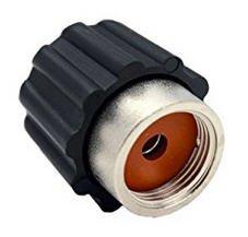 ELETTROGEA - Tappo di sicurezza con valvola di sfiato FOGACCI LAVAPOROSA 3/4 FEMMINA misura 3/4 - pressione max 5 bar - munito di guarnizione in silicone