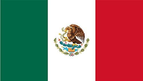 SHATCHI Mexiko-Nationalflaggen, 152 x 91 cm, groß, für Sportveranstaltungen, Kneipen, Grillpartys, Tische, Tische, Fußball, Weltmeisterschaft, Dekoration für Olympische Spiele