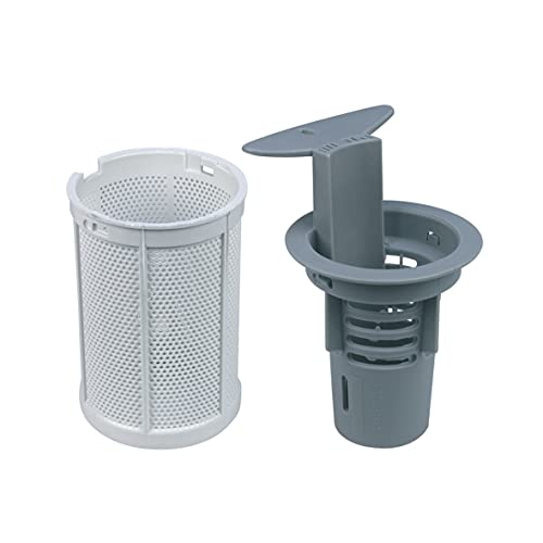ORIGINAL Indesit C00142344 Geschirrspülersieb Filtereinsatz Spulmaschinensieb Schmutzfilter Feinsieb Grobsieb Set Spülmaschine Geschirrspüler auch Ariston Hotpoint Whirlpool Bauknecht 482000029630