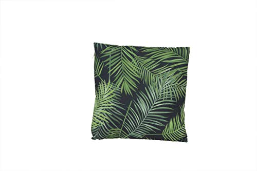 A-Kussen Botanique met Palm Bladeren Zwart 34x34cm - Textiel (set van 2)