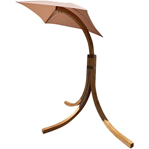 ASS Hängesesselgestell aus Holz Lärche für Hängesessel (nur Gestell ohne Sessel), Modell:3 Beine