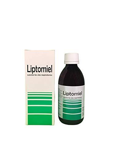 LIPTOMIEL jarabe 250 ml a base de eucalipto, tomillo y miel, suaviza la garganta y alivia la tos