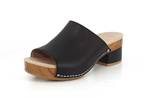 Dansko Women's Maci Black Sandal 8.5-9 M US