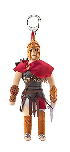 FragStore Assassins Creed Keychain – Kassandra Plush Action Figure 21 cm – Assassin Creed Odyssey Merchandise Collectibles Origins Figures Estatua – Merch Assessories Toy de poliéster multicolor