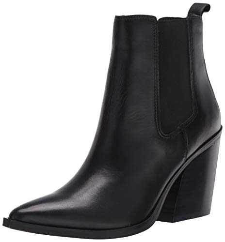 Steve Madden Archie Bootie Black Leather 9