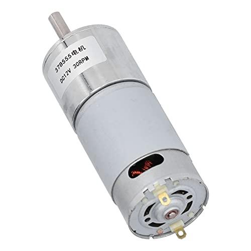 KUIDAMOS Motor de Engranajes de CC, Superficie de Carcasa Duradera del Motor de Engranajes galvanizada para Cerradura de Puerta electrónica para maquinaria financiera
