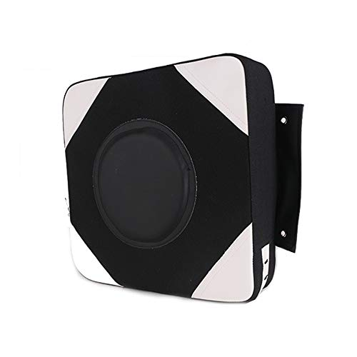 CARACHOME Wall Punch Pad Wall Mounted Punch Bag Large 40X40 CM Square Foam Boxing Bag Fighting Pad Kick Shield for Workout Fitness Fighting MMA Muay ThaiBlack