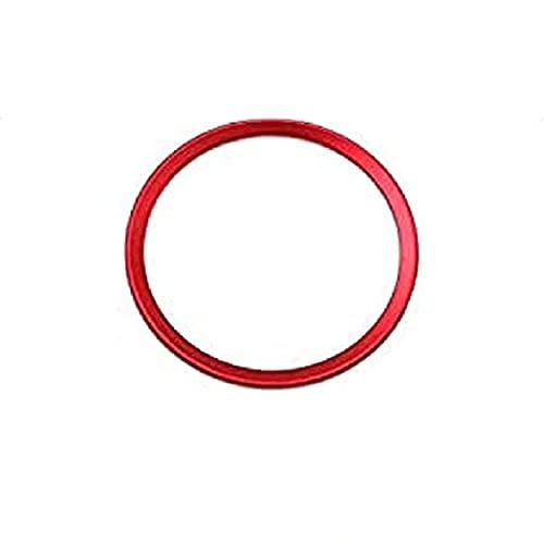 YJSZJY Marco del Emblema del Volante, Comercio Rojo para Logo A1 A3 S3 RS3 A4 S4 RS4 A5 S5 RS5 A6 S6 RS6 A7 S7 RS7 A8 S8 Q3 SQ3 Q5 SQ5 TTTS