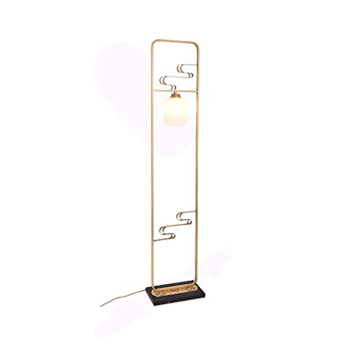 DXX-HR Lámpara de pie, Retro Lámpara de pie Lámpara de pie Nuevo Chino Estudio de Té habitación del Hotel de Estar Dormitorio Lámpara de pie - Diseño Accesorio de iluminación