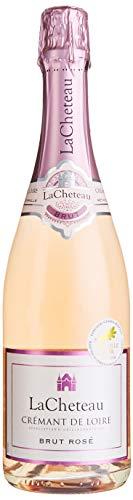 LaCheteau - AOP Crémant de Loire Brut Rosé - Schaumwein - Herkunft : Frankreich (1 x 0.75 l)