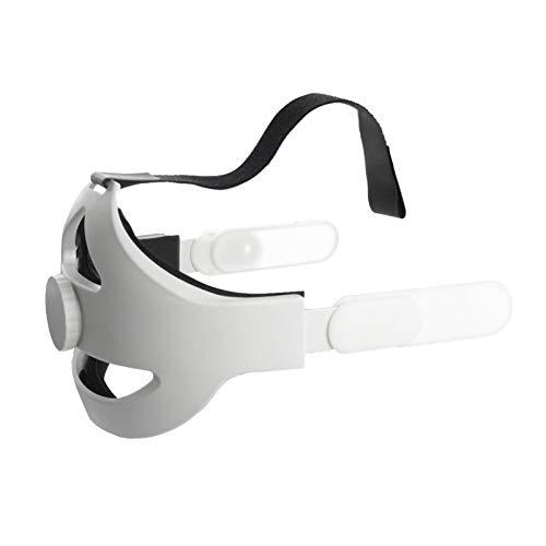 Huaxingda Correa De Cabeza Elite Reemplazable para Diadema Oculus Quest 2 con Correa De Almohadilla De Espuma Cómoda Acolchada, Diseño De Peso Equilibrado, Reducción De Presión