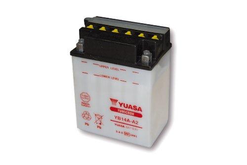 Motorize-YUASA Batterie YB 14A-A2 ohne Säurepack
