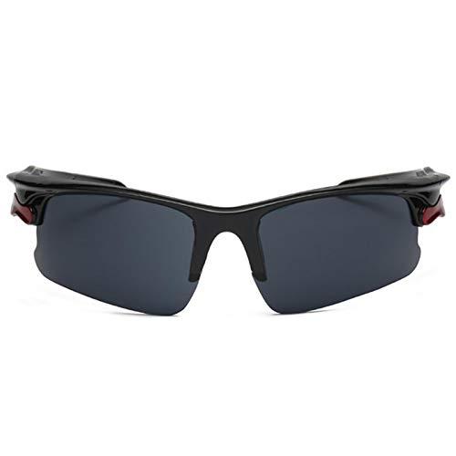 persiverney-AT Gafas de Sol con protección UV para Hombres y Mujeres cómodas Gafas de Ciclismo de conducción duraderas para Todas Las Formas faciales Pleasant