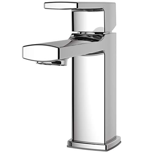"Pfister LG42-DA0C Deckard Single Control 4"" Centerset Bathroom Faucet, Polished Chrome"