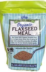 Trader Joe's ORGANIC Flaxseed Meal 16 oz (Case of 6)