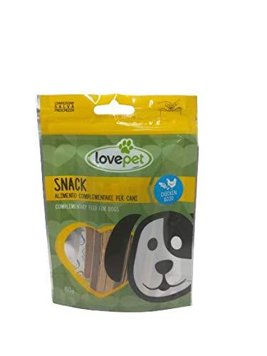 Snack Per Cani LOVE PET Chicken Sandwich con Pollo e Merluzzo