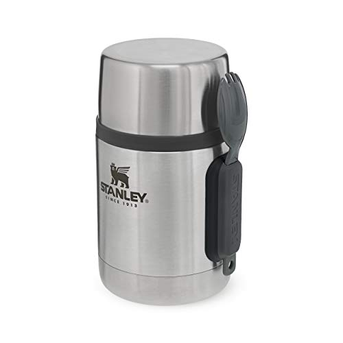 Stanley, STAN 0.53 L ADVENTURE VAC FD JAR Unisex-Adult, acciaio INOX, standard