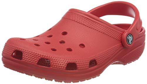 Crocs Unisex Classic Clog, Rot, 36/37 EU