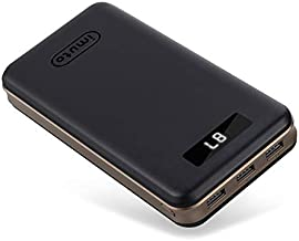 Portable Charger 30000mAh iMuto Power Bank X6 USB External Battery Pack Android Cell Phone 3-Port 3.4A Output Fast Charging for iPhone 11 Pro Max, 8 Plus, Samsung Galaxy S10, iPad, Nintendo Switch.