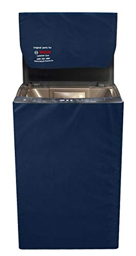 Bosch Top Load Washing Machine Dust Cover/Protective Cover – Blue (Suitable for 7 Kg and 8 Kg Top Loading Washing Machine)