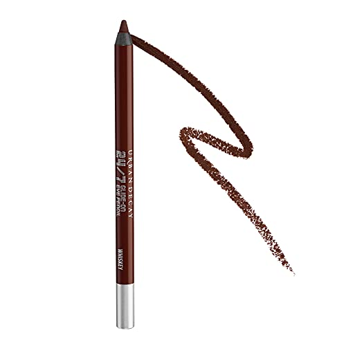 Urban Decay 24/7 Glide-On Eyeliner Pencil, Whiskey - Rich Brown with Matte Finish - Award-Winning, Waterproof Eyeliner - Long-Lasting, Intense Color