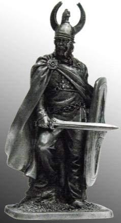 Celtic dux, Tin Soldiers Metal Sculpture Miniature Figure Collection 54mm (Scale 1/32) (54-29)