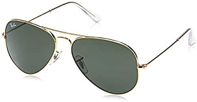 Ray Ban Aviator Classic Gold Unisex Sunglasses - RB3025-L0205-58-14-135