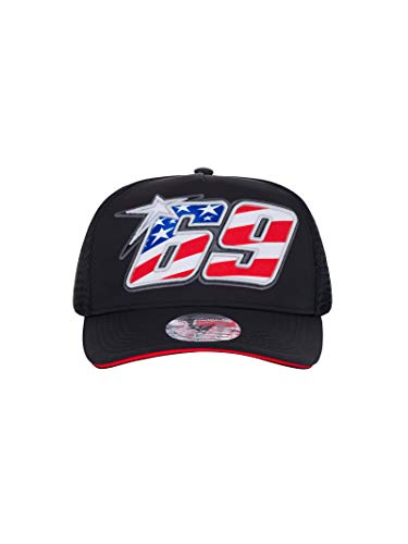 NICKY HAYDEN GP Racing Schirmmütze 69 Legend Snapback Trucker Cap Official Racing Apparel