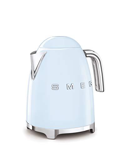 SMEG Elektrischer Wasserkocher KLF03PBEU, 7 Cups, Hellblau