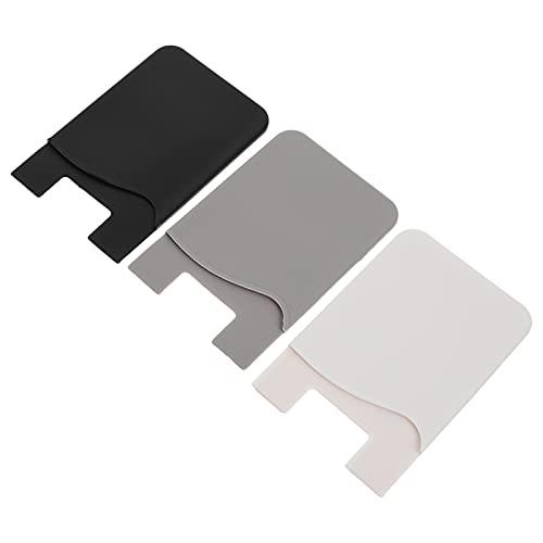 ABOOFAN 3Pcs Telefoon Terug Kaarten Gevallen Smartphone Back Portefeuilles Lijm Telefoon Terug Zakjes