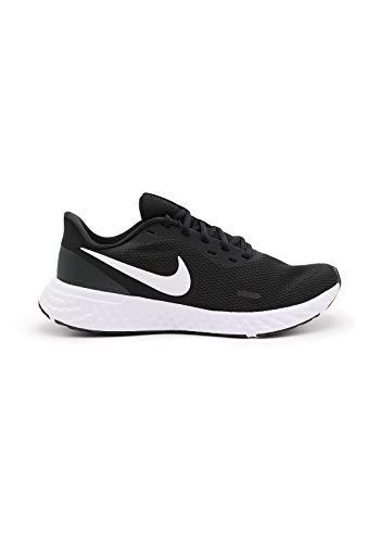 Nike Revolution 5, Zapatillas para Correr Hombre, Pure Platinum Thunder Blue Chile Red, 46 EU