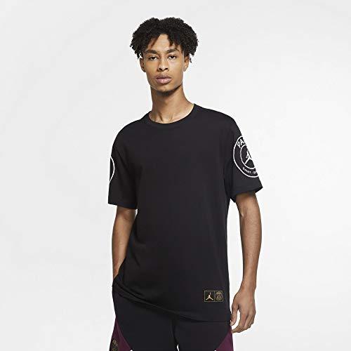 PSG Paris Saint Germain T-Shirt Nera Jordan 2020-21 (L)