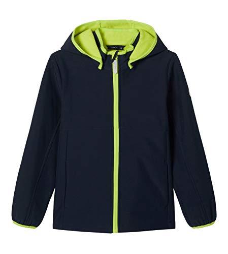 NAME IT Jungen Softshelljacke NKMMALTA Jacket FO, Größe:152, Farbe:Dark Sapphire
