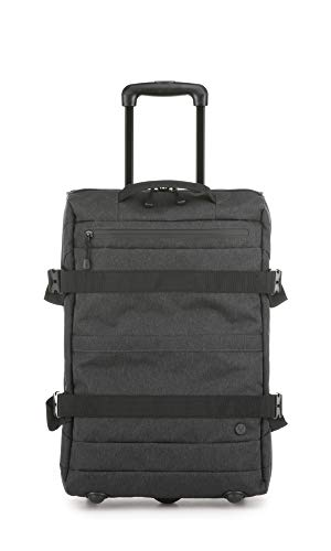 Antler Bridgford Upright Trolley Bag, Durable Cabin Travel Bag with Wheels - Colour: Charcoal, Size: Small